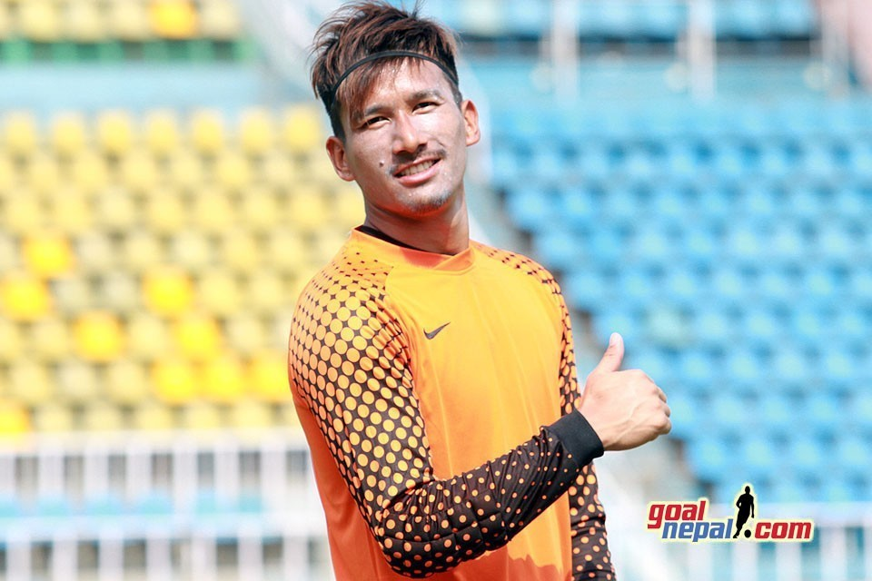 Nepal Number 1 GK Kiran Chemjong Extends Contract With Punjab FC