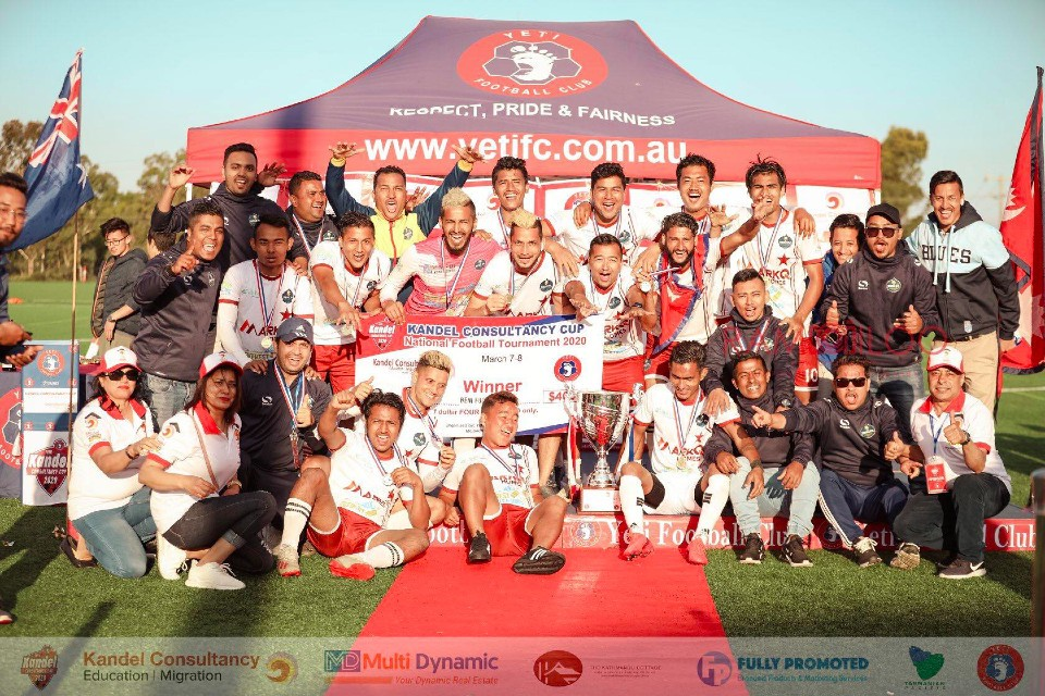 Australia: Beni FC Clinches Title Of 10th Kandel Consultancy Cup 2020