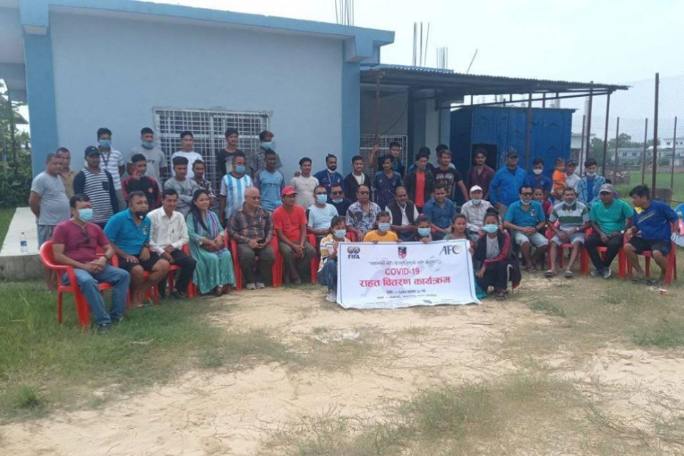 Banke DFA Provides COVID Relief To 43 Players