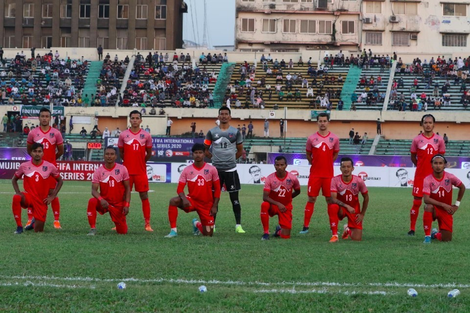 Nepal One Step Down In FIFA World Ranking