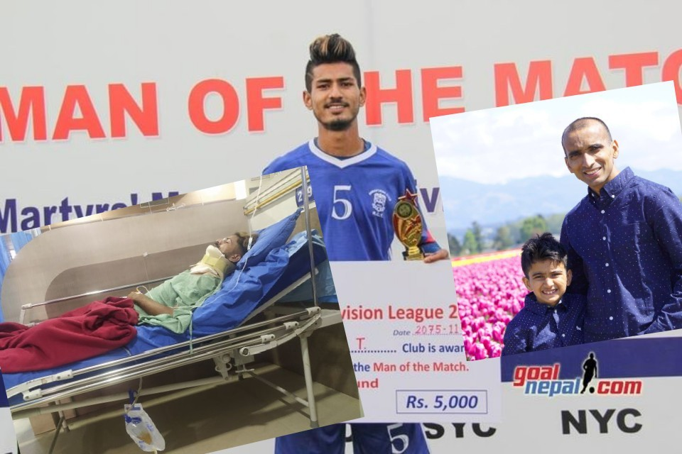 GoalNepal Supporters Cover Medical Bill Of Injured Lokendra Karki