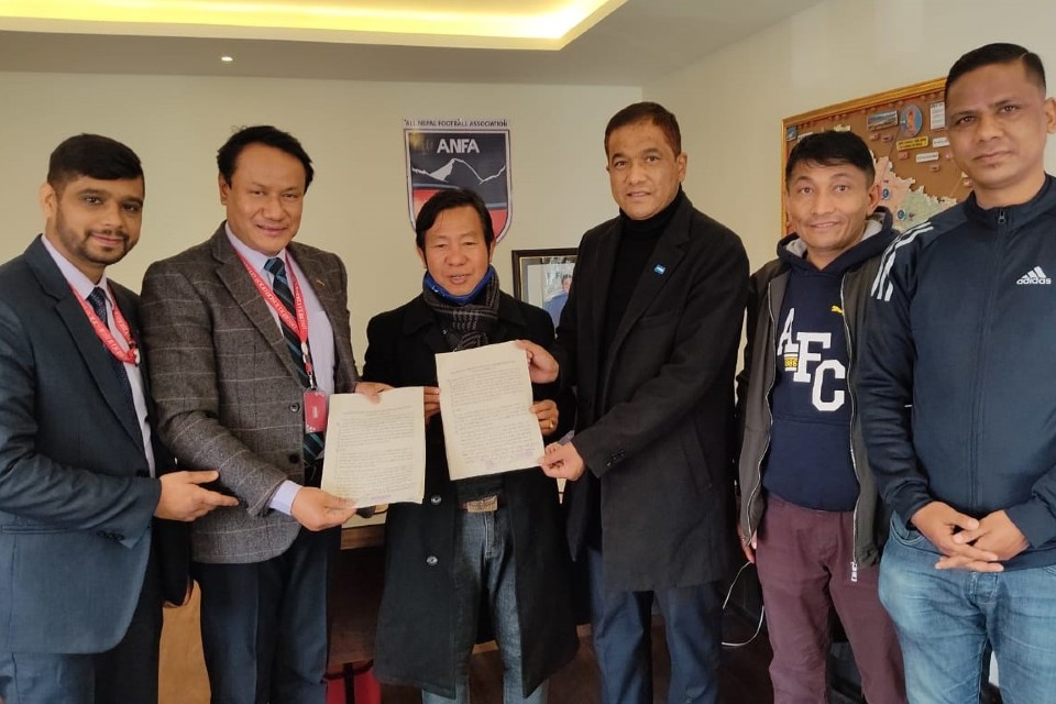 ANFA, Prabhu Insurance Sign MoU For Accidental Medical Insurance Of Players
