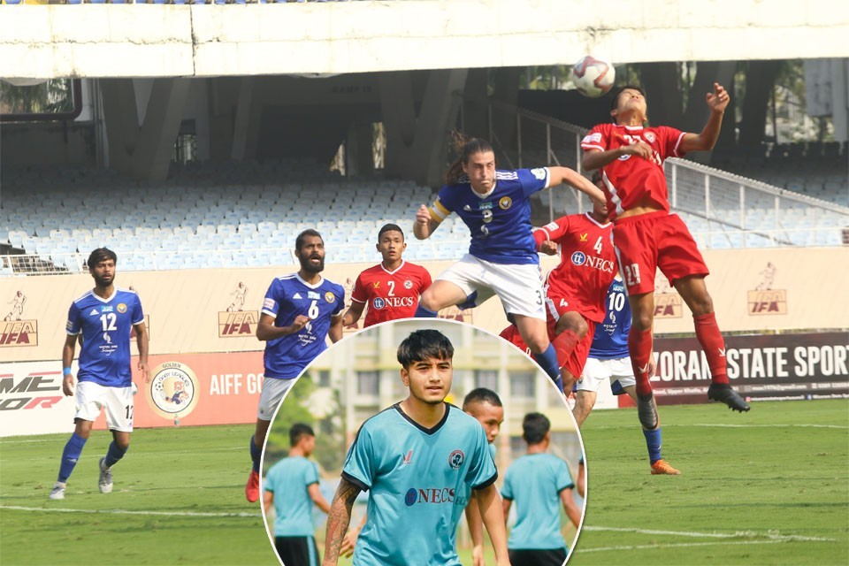 Nepal International Abhisek Rijal Makes I-League Debut