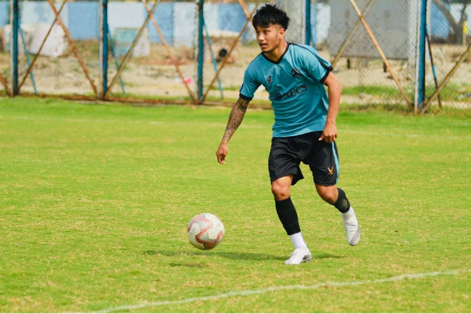 Nepal International Abhisek Rijal Tastes Victory In I-League