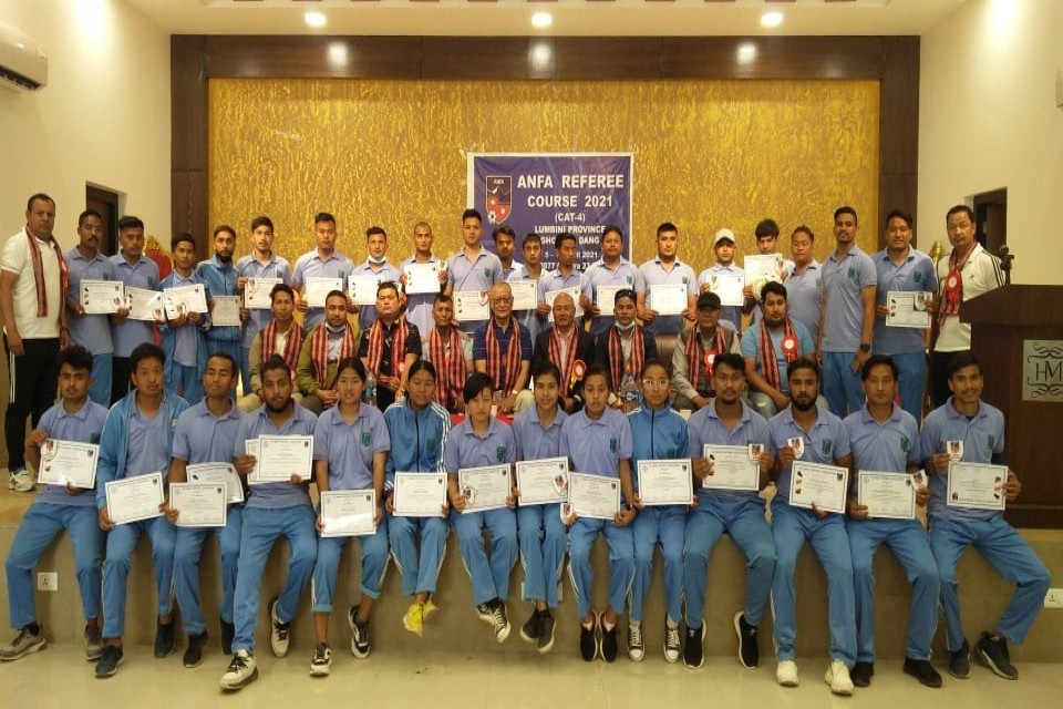 Dang: 7-Day ANFA Referee Course Concludes