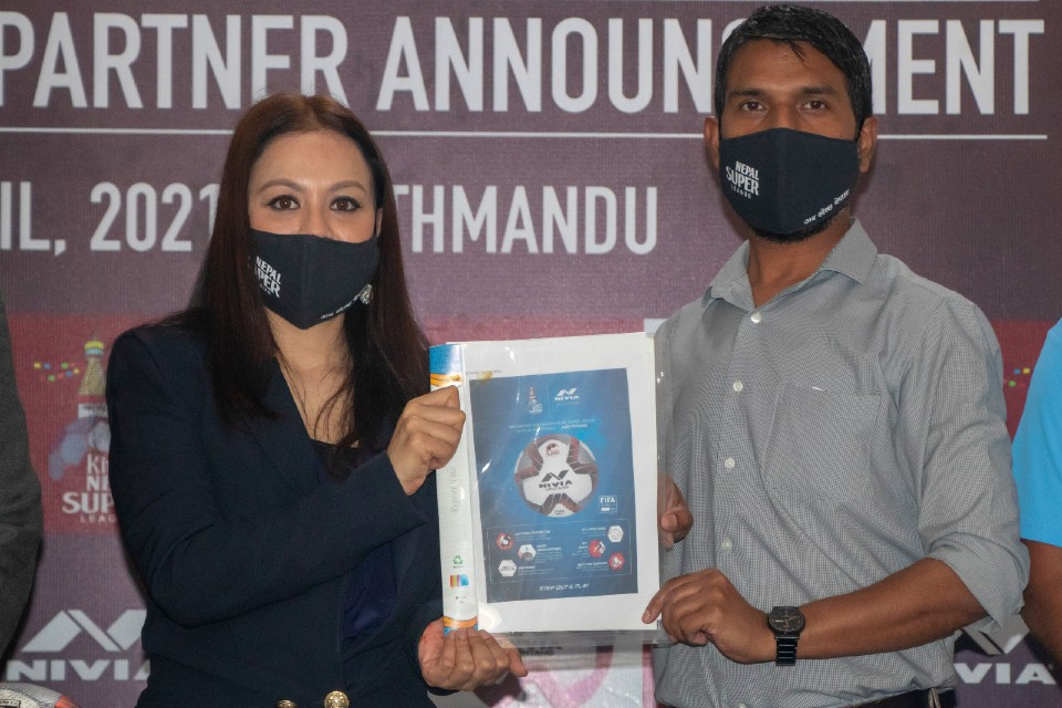 NIVIA Is The Official Matchball Of Nepal Super League