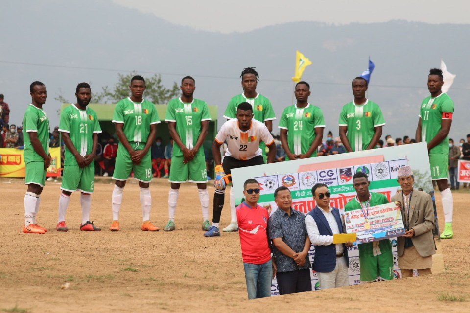 Bhojpur: African Roots Enter SFs Of Bhojpur Gold Cup