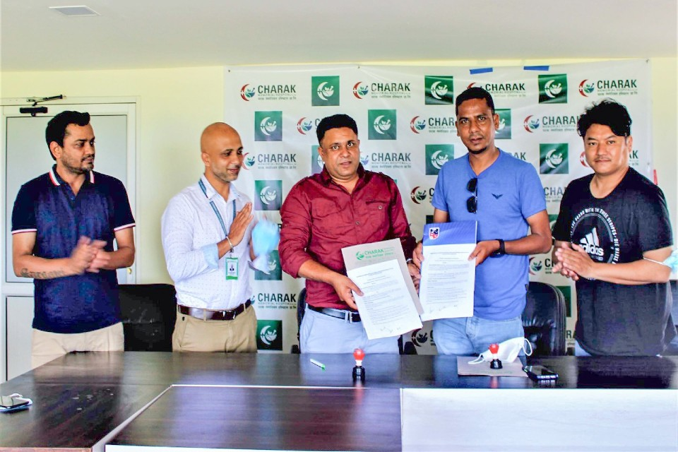 ANFA Signs MoU With Pokhara Based Charak Memorial Hospital