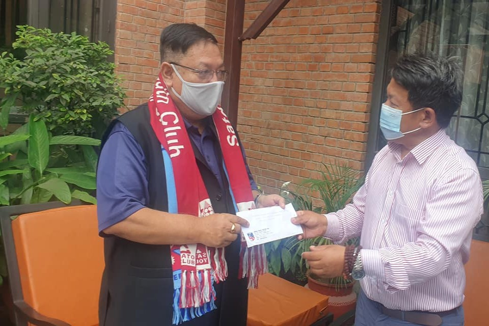 Nepal Government Assures COVID Vaccines To Football Players, Officials At Venues !