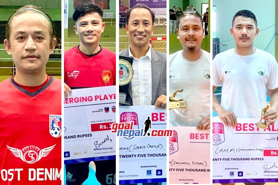 National Futsal League: The Best Players & The Coach Are....