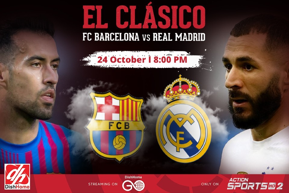 How To Watch Season's First El Clasico In Nepal ?
