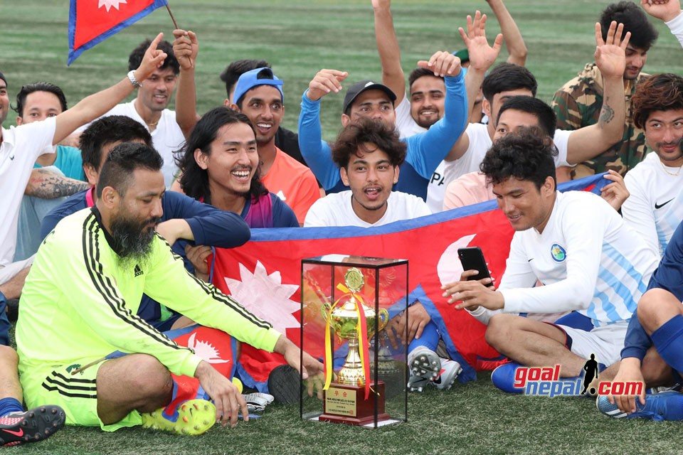 South Korea: Nepali Community Football Team Wins the Title