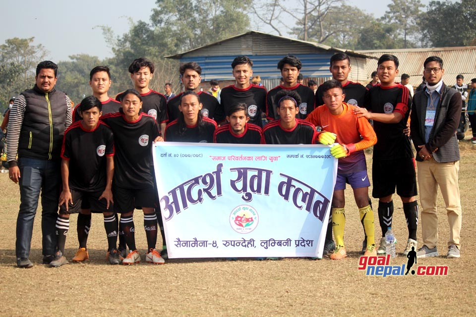 1st Adarsha Cup: Host Adarsha YC Enter FINAL
