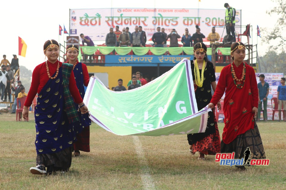 6th Suryanagar Gold Cup: Nawa Yuwa Club Vs Pharsatikar FC