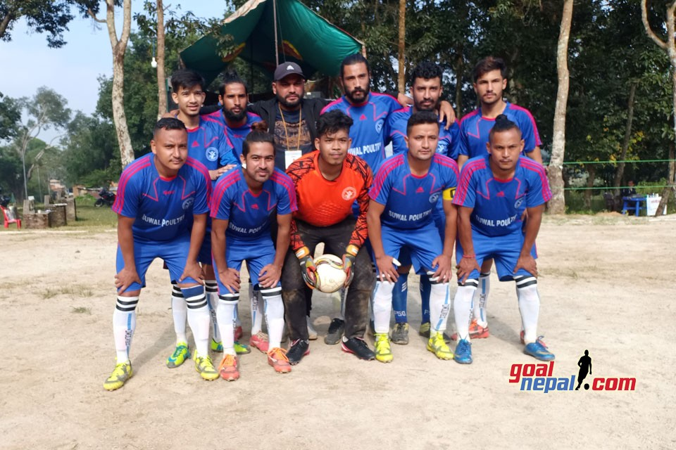 Ward No 2 Wins Title Of 1st Suryavinayak Cup 7 A Side Championship