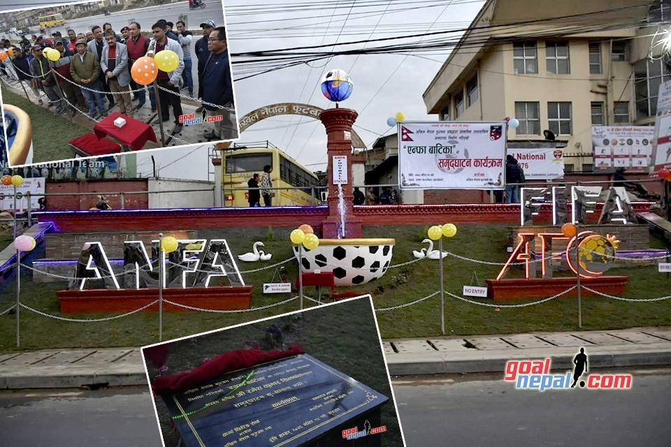 ANFA's Road Side Garden Inaugurated