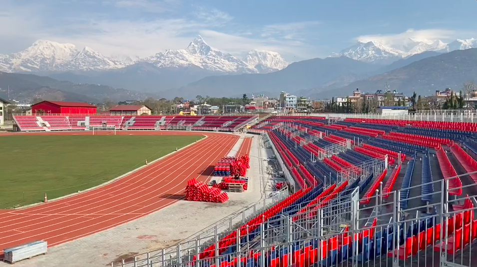 Latest Update From Pokhara Stadium - VIDEO