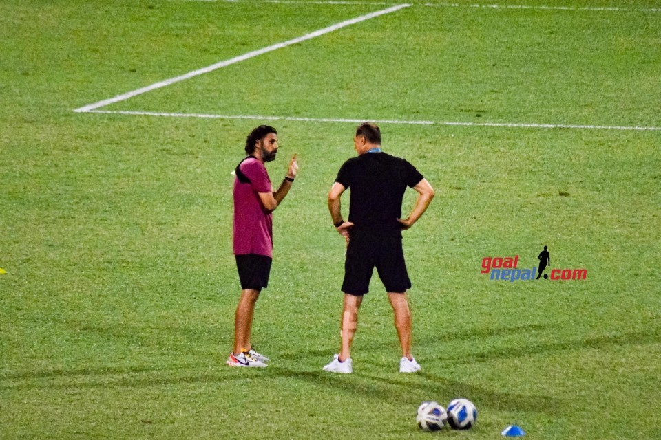 Coach AA Not Happy With Indian Coach Igor Stimac